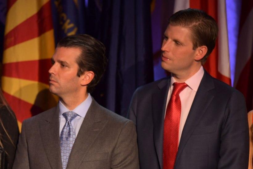 Trumpi poegade reisi hind maksumaksjale on 73 000 dollarit