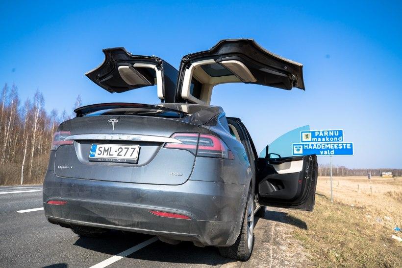 EKSPERIMENT ÕNNESTUS: elektriautoga sai Lätist tuua mitusada kilo odavat kaupa, kütte peale kulus vaid 8 eurot!