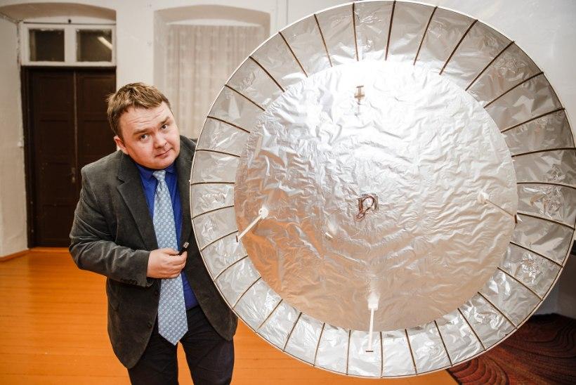KOSMOSETEADLANE: ehitasin lendava taldriku – võimalik, et see töötab just nii nagu tulnukatel