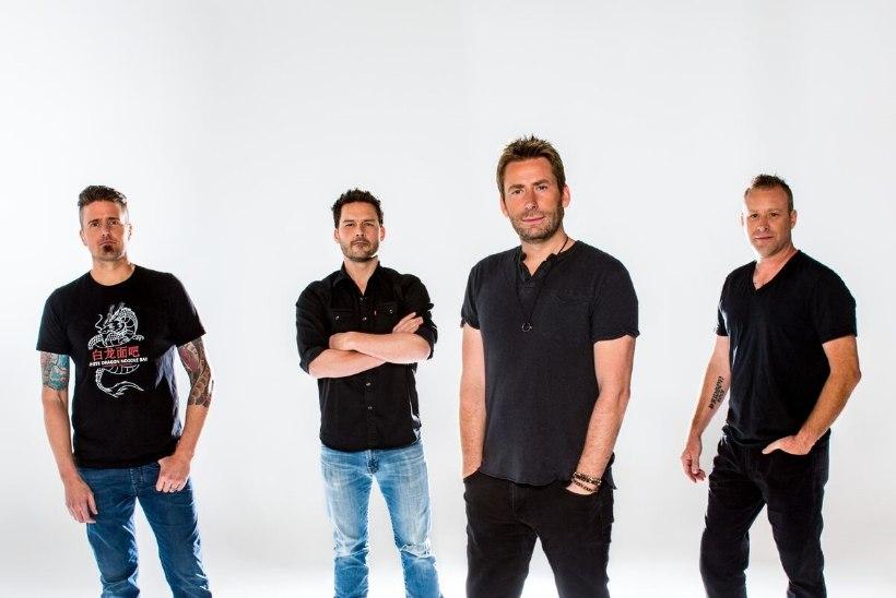 Nickelback: palume oma Eesti fännidelt vabandust