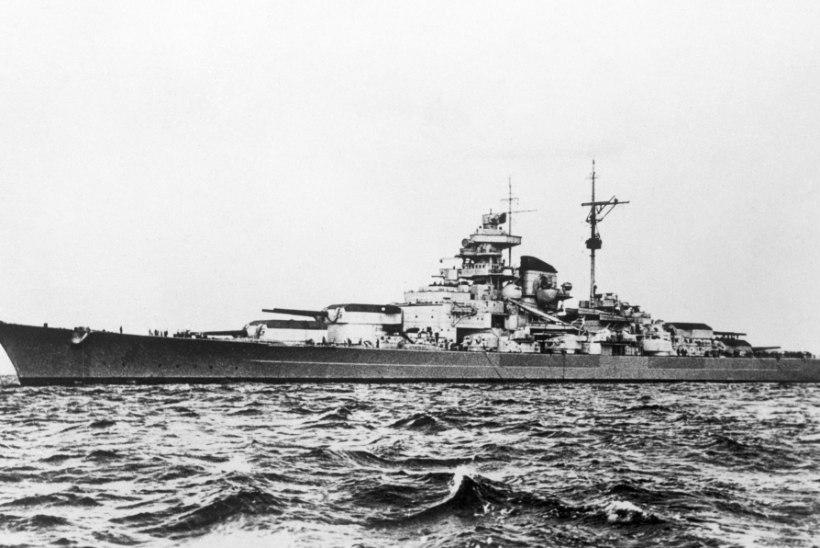 Natside suurim lahingulaev kummitab tänaseni Norra rannikut