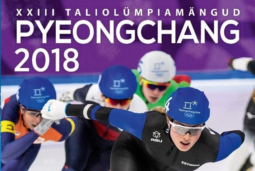 GALERII | Pyeongchangis hiilanud Saskia Alusalu särab ka olümpiaraamatu kaanel