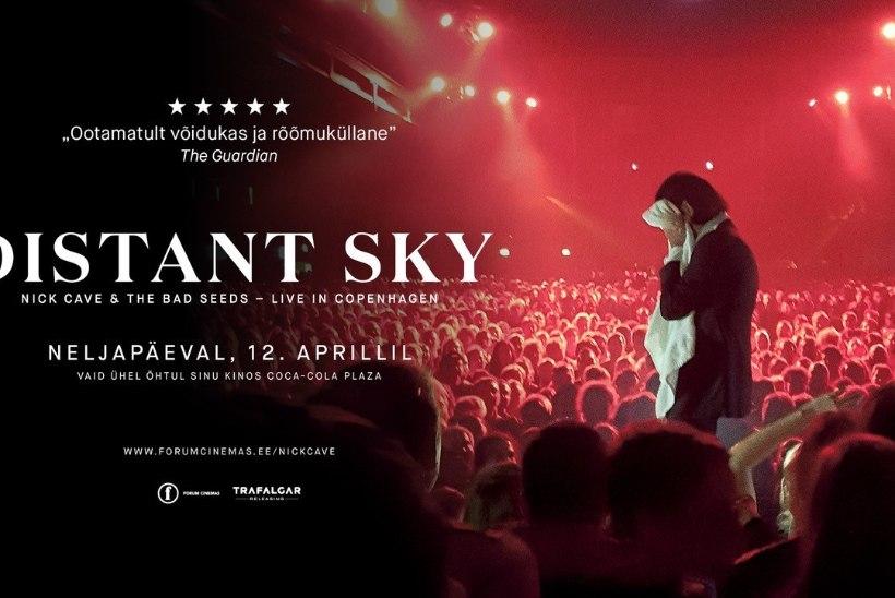 Positivuse festivali peaesineja Nick Cave astub üles kinolinal