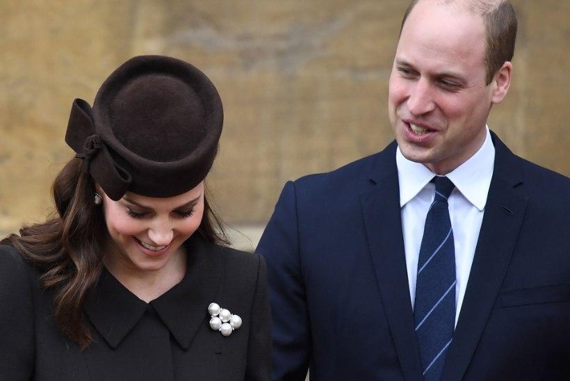 Prints William paljastas kogemata oma kolmanda lapse soo?