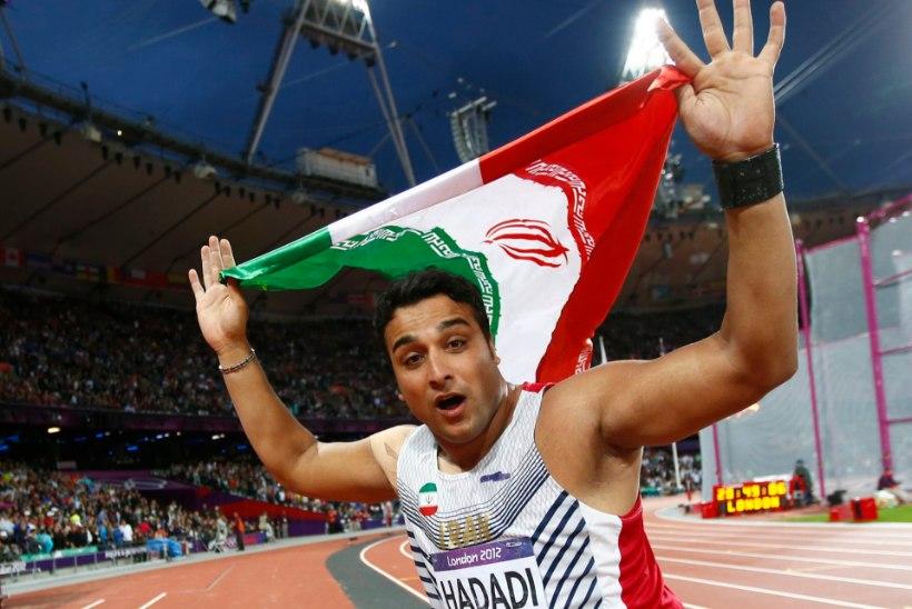 Londoni olümpial hõbeda võitnud Hadadi andis heitemaailmale tormihoiatuse
