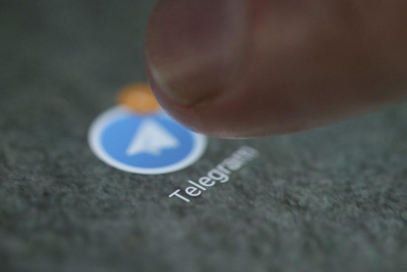 Venemaal suleti populaarne sõnumiäpp Telegram