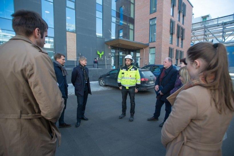 FOTOD ja VIDEO | Keskkonnakomisjon tutvus Soomes Äänekoski biotoodete tehasega