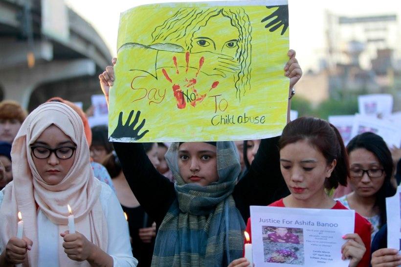 Indias vägistatud ja mõrvatud lapse juhtum tekitab usuvaenu