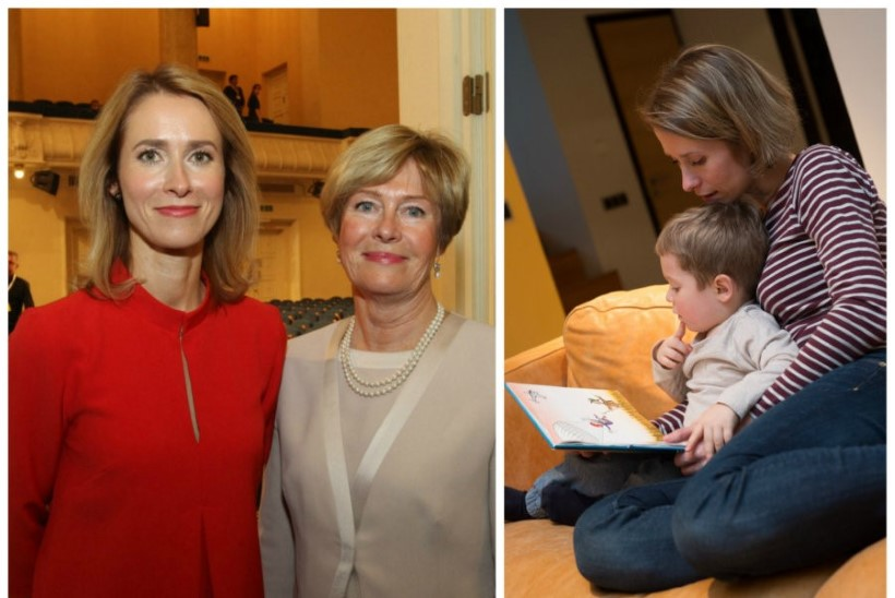 Kristi Kallas: neil nädalatel, kui Kaja teeb Strasbourgis tööd, olen mina lapsega