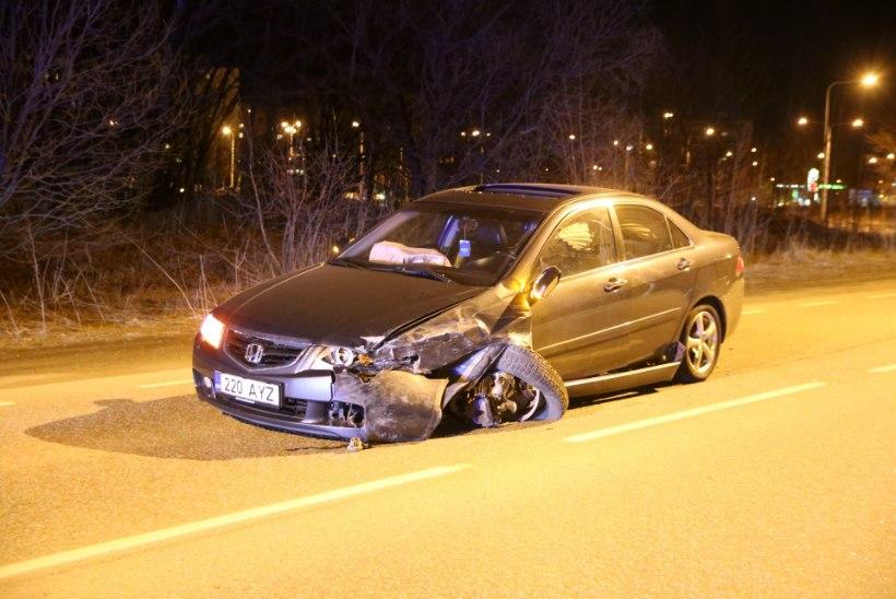 GALERII: Öine roolijoodik rihtis Tallinnas vastutulija ära