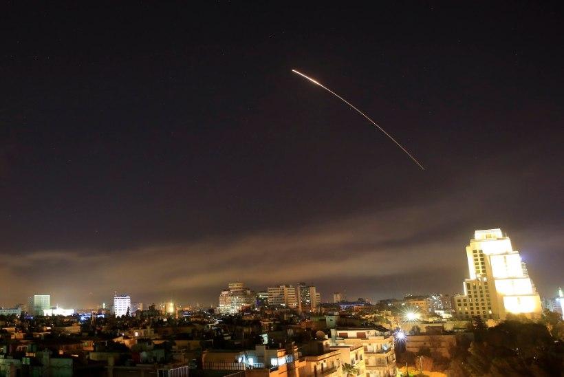 FOTOD JA VIDEOD | USA ründas koos liitlasvägedega Süüriat