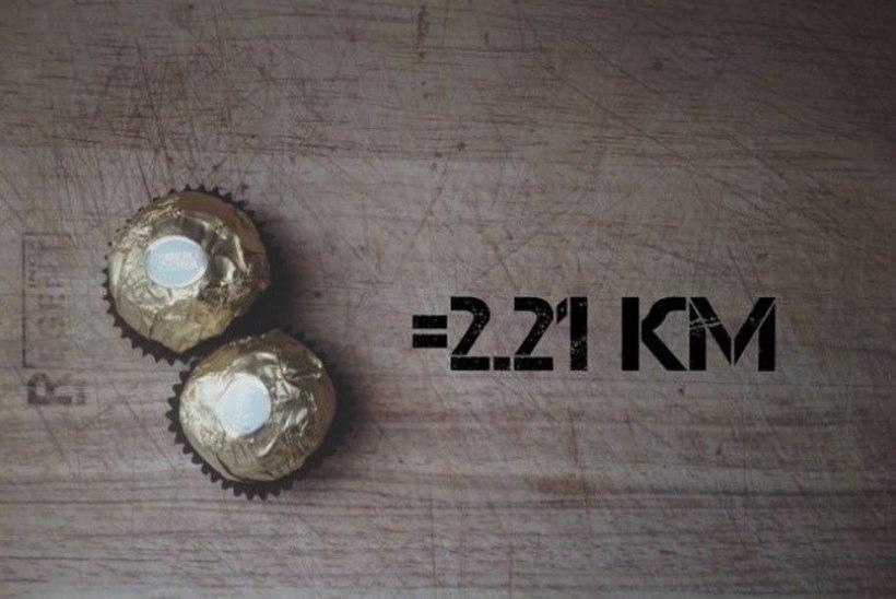 """Расплата бегом: сколько километров """"стоят"""" шоколадка, чипсы и прочий фастфуд"""
