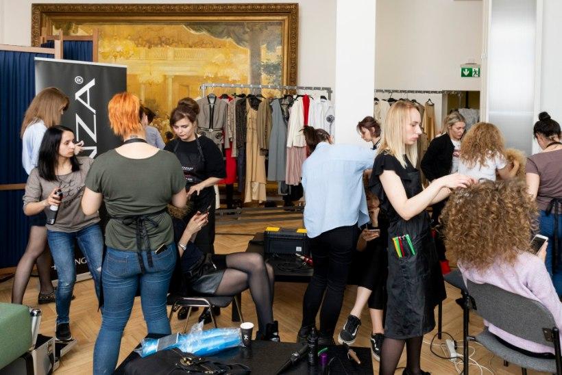 PILDIGALERII | Suurejooneline kaubanduskoja kevadball päädis Oksana Tanditi uhke moe-show'ga