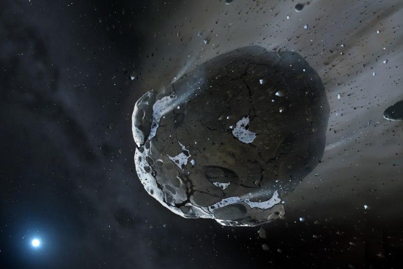 NAPIKAS: ootamatult kosmosest ligi hiilinud asteroid tuhises Maast mööda