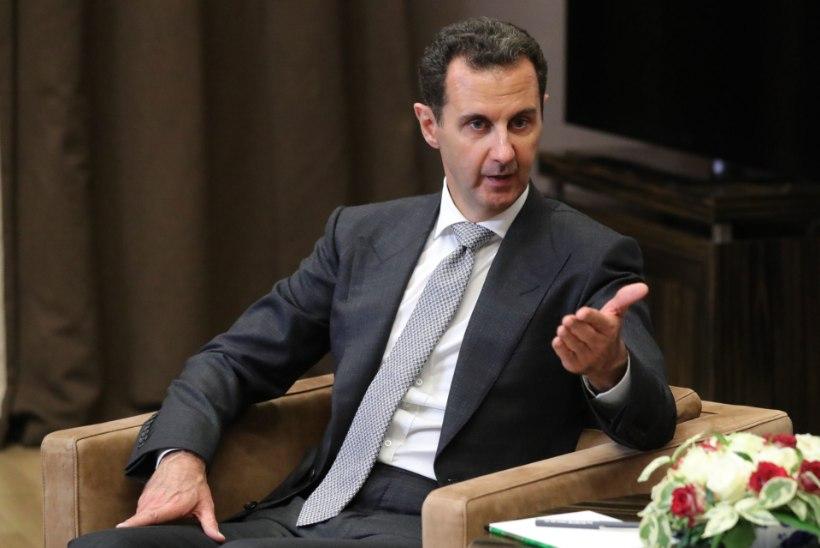 Süüria presidendi pojad puhkasid Krimmis Artekis