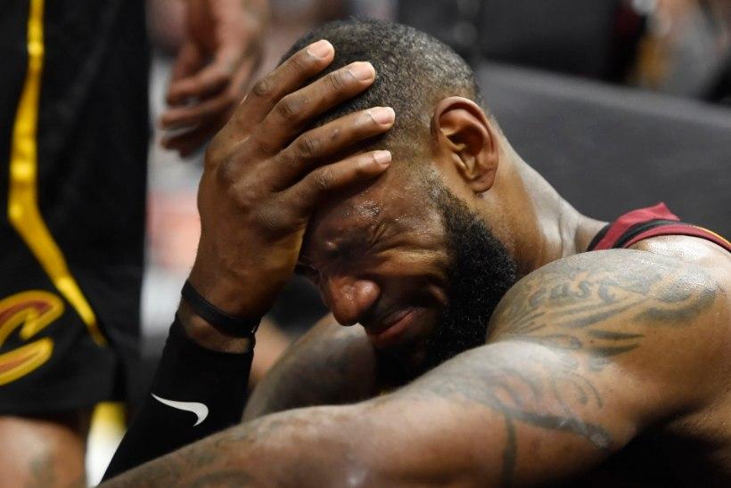 VIDEO | JUHUS VÕI ENNE? LeBron James väljus play-offi avalahingust kaotajana