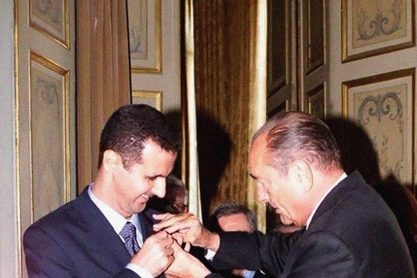 KARISTUS: Prantsusmaa soovib Süüria presidendilt ära võtta Auleegioni suurristi