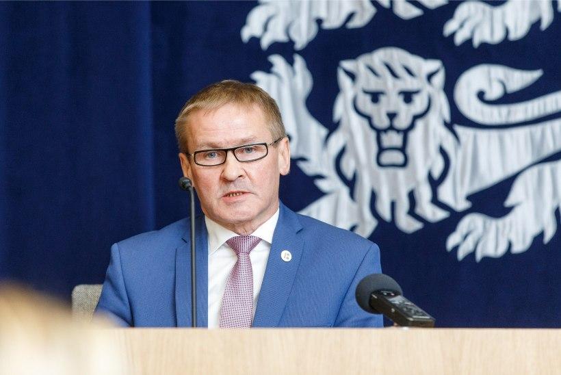 ÕL VIDEO JA FOTOD | Riigihalduse minister Jaak Aab astub tagasi