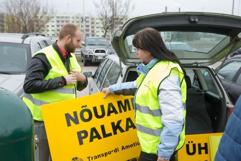 Tagasihoidlik nõudmine: Sebe bussijuhid tahavad kõrgemat palka