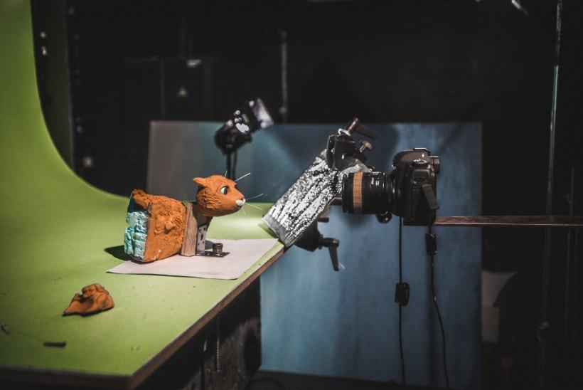 ÕL VIDEO | Plastiliinist nukufilm koduteed otsivast kassist valmib seitsme sekundi kaupa päevas