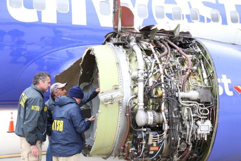 Plahvatanud mootoriga lennuki naispiloot tegi hädamaandumise külma närviga