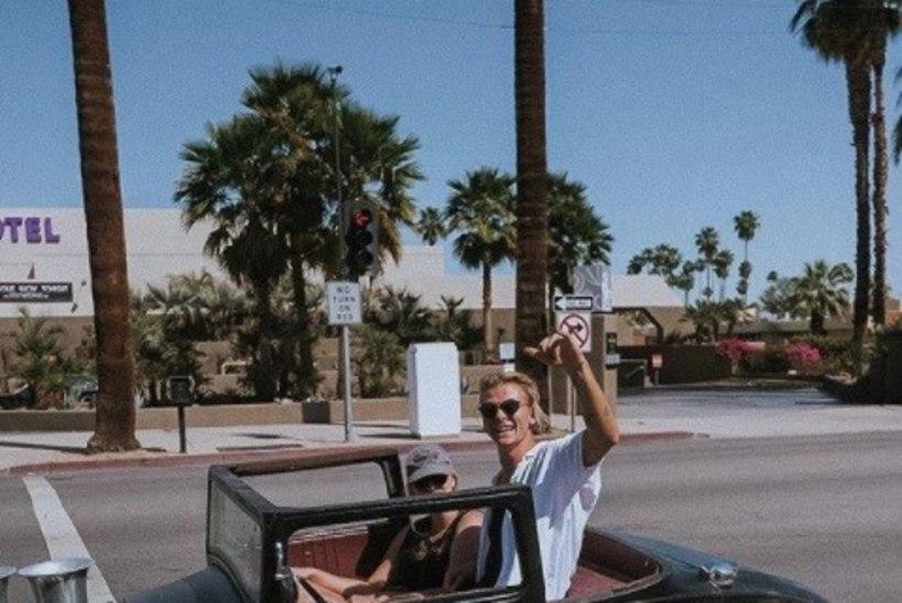 Rännumees Juhani Särglep kohtus Californias Snoop Dogg'i ja Kendall Jenneriga