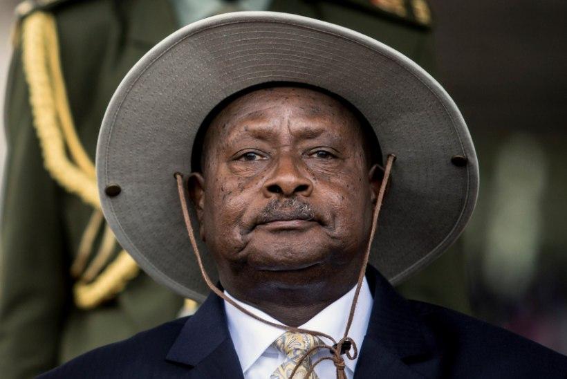 """Uganda president tahab suuseksi ära keelata: """"Suu on söömiseks!"""""""
