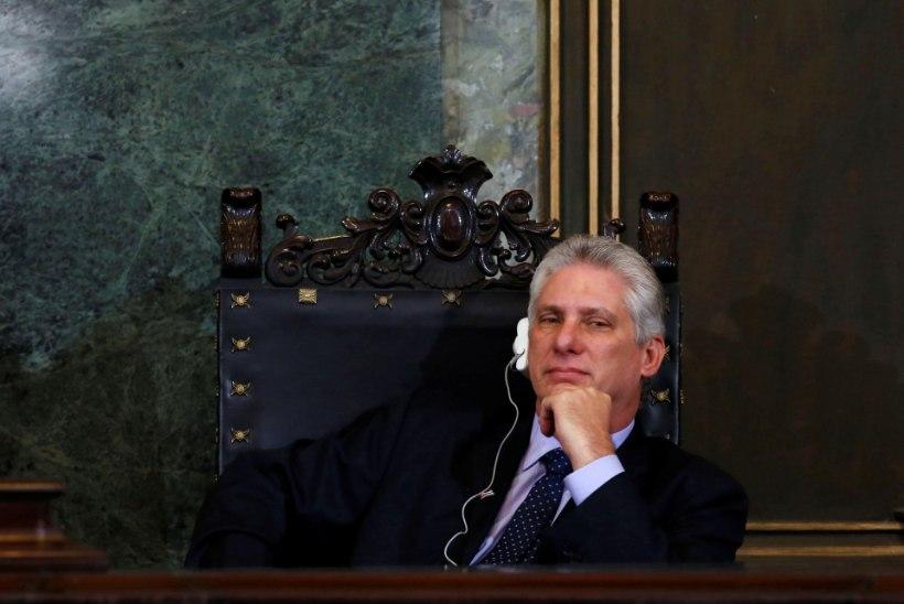 Kuuba uueks presidendiks saab Miguel Diaz-Canel