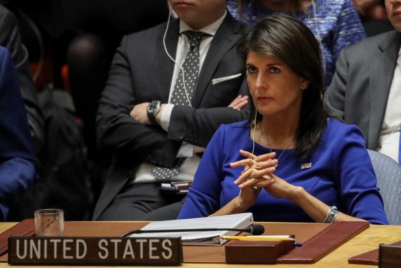 Ameerika suursaadik ÜROs läks Valge Majaga tülli