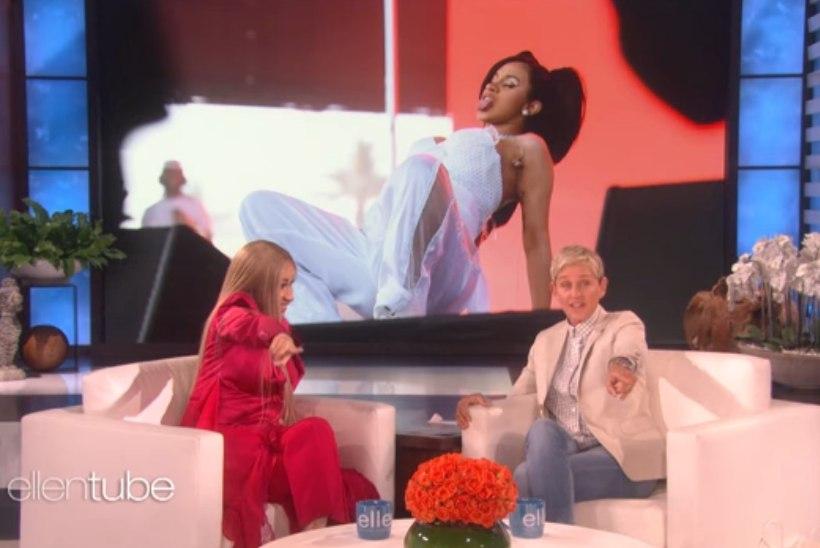 VIDEO | Cardi B näitas Elleni saates, kuidas ta rasedaks jäi