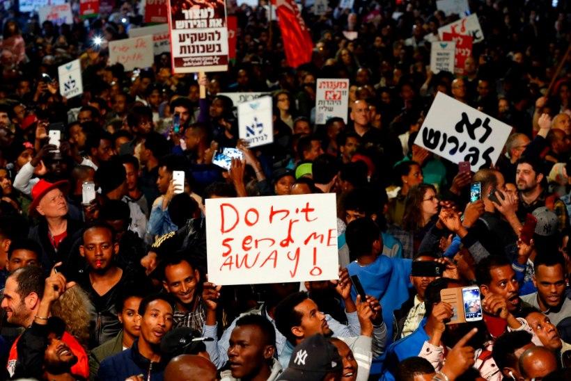 Iisrael jätab omale 18 000 põgenikku, kuid saadab 16 000 Euroopasse