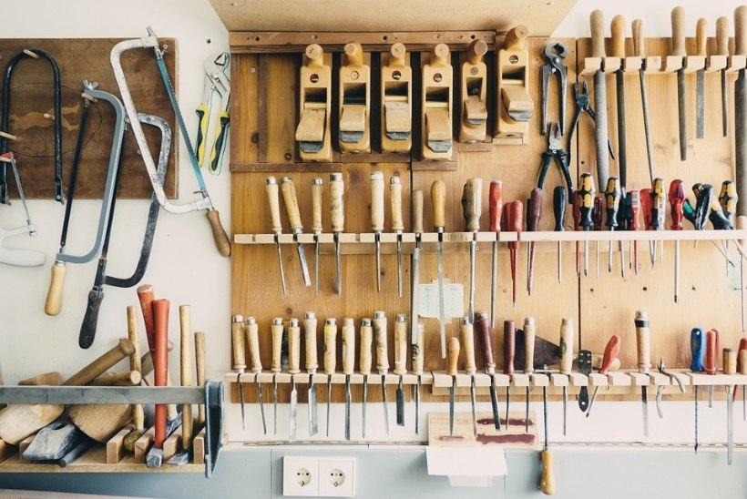 Suurpuhastus garaažis annab võimaluse luua töömehe paradiisi