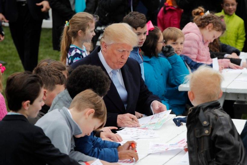 VALE PUBLIK? President Trump tüütas lapsi majandusjutuga