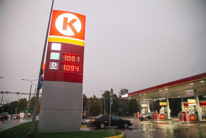 Kütusemüüjad tõstsid bensiini hinna 1,35 euroni