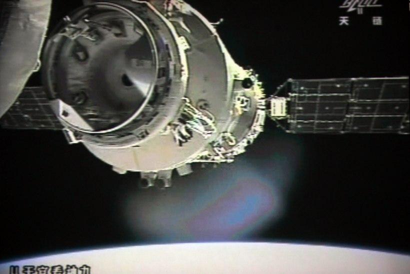 Hiina kosmosejaam põles ära Vaikse ookeani kohal