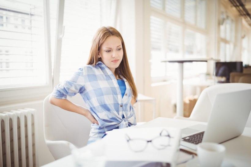 SÄÄSTA SELGA: kolm nõuannet neile, kes päev otsa laua taga tööd teevad