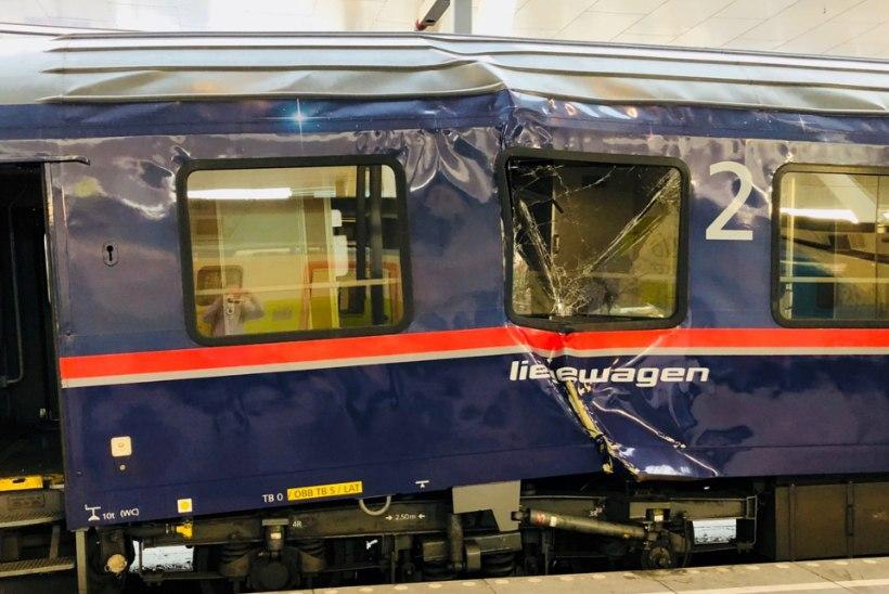 Austria rongiõnnetuses sai ligi 40 inimest vigastada