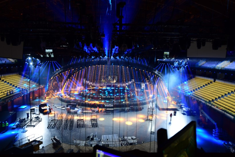 GALERII | Vaata, kuidas kerkib tänavune Eurovisioni lava