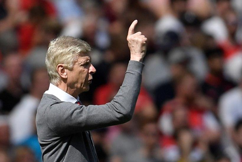 Arsenal tähistas Wengeri lahkumisteadet nelja väravaga