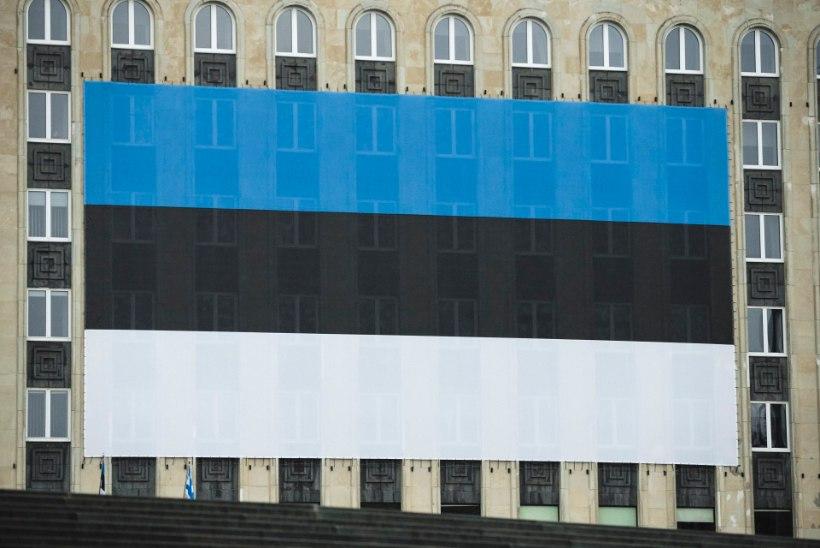 VIDEO | Eesti Rahva Muuseumis asub Eesti suurim käsitsi kootud lipp