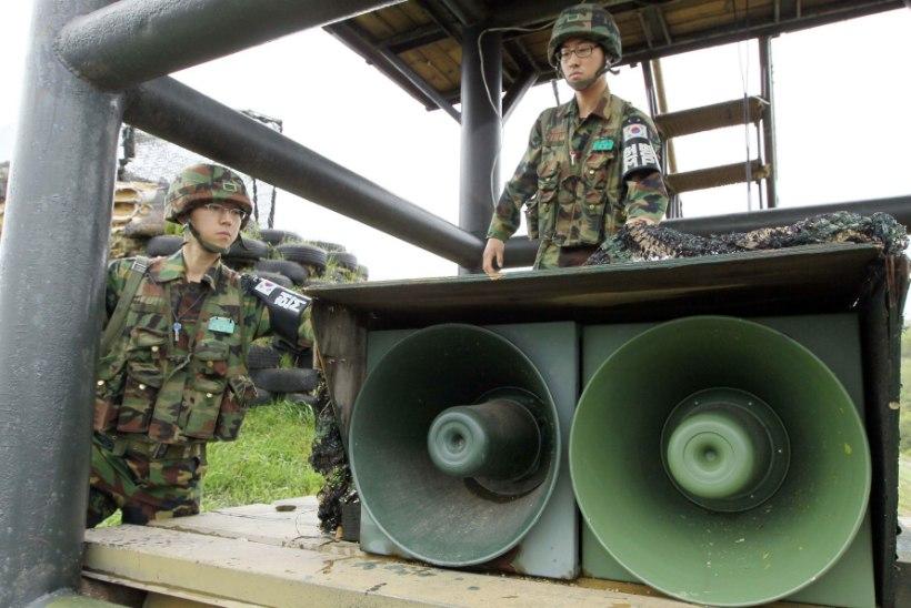 Lõuna-Korea vaigistab enne tippkohtumist propagandamasina