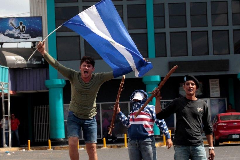 Nicaragua president tühistas veriseid kokkupõrkeid põhjustanud pensioniseaduse
