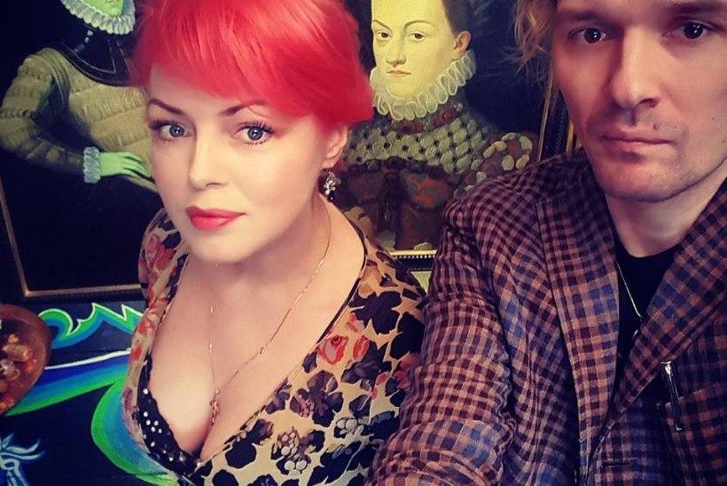 Beatrice ja Ed lahkusid Schlössle hotelli sünnipäevapeolt unikaalsete maalidega