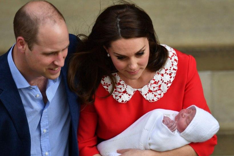 FOTOD | Kate ja William näitasid maailmale uut väikest printsi