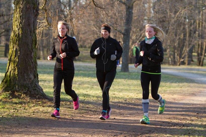 LHV tervisejooksul osalejad  asuvad koguma 100 tervislikku kilomeetrit