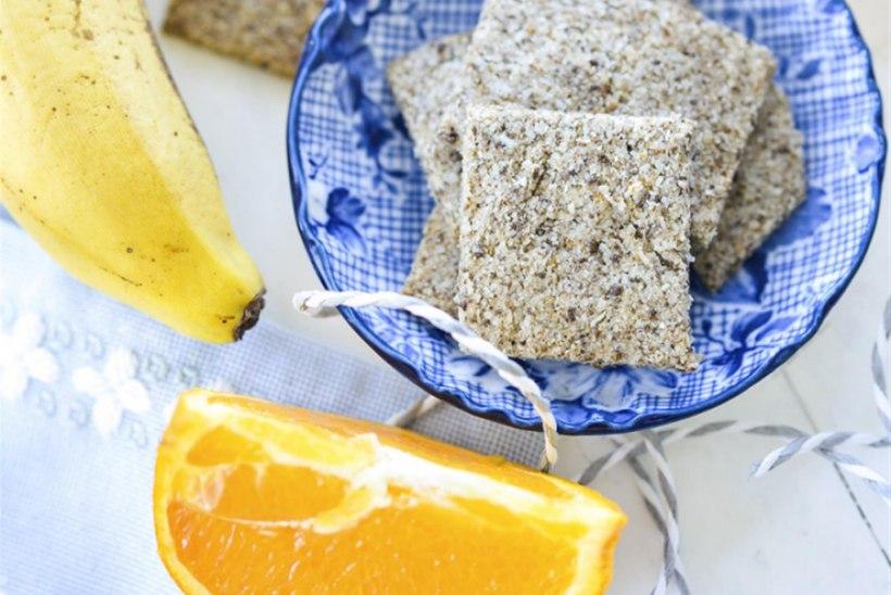 Näkileivad kookoseja chia-seemnetega