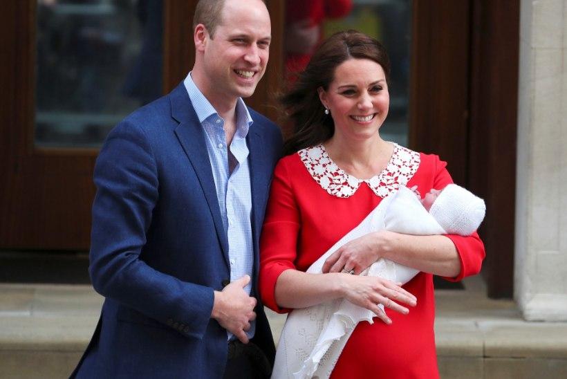 Prints William paljastas, kuidas pisipoeg ennast ülal peab!