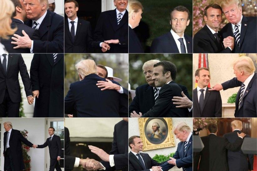 FOTOD | Trumpi ja Macroni lembehetked – kas osa diplomaatilisest strateegiast?