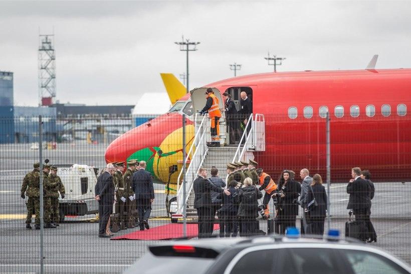 GALERII | Norra kuninglikud kõrgused saabusid Tallinna