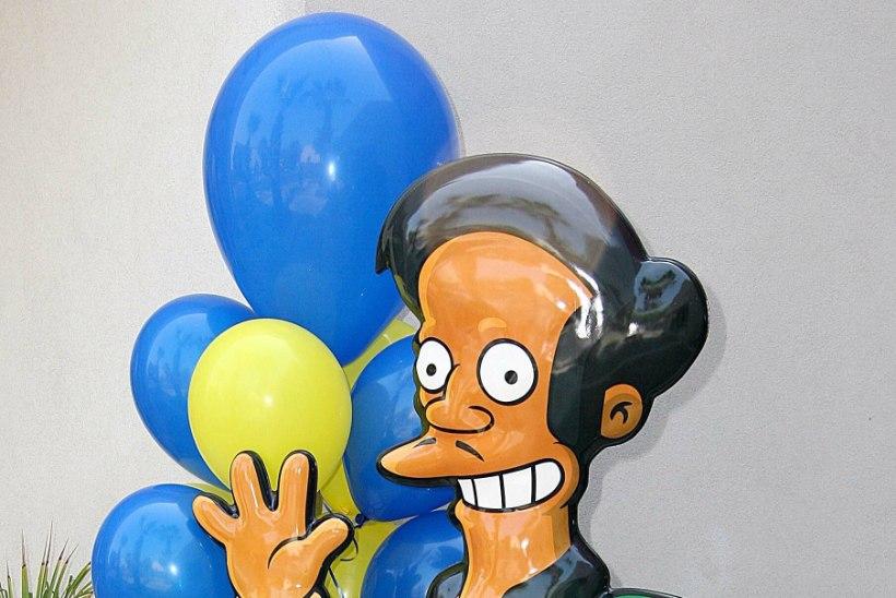 """""""Simpsoneid"""" tabas rassismisüüdistus – 28 aastat Aput kehastanud näitleja on valmis tagasi astuma"""